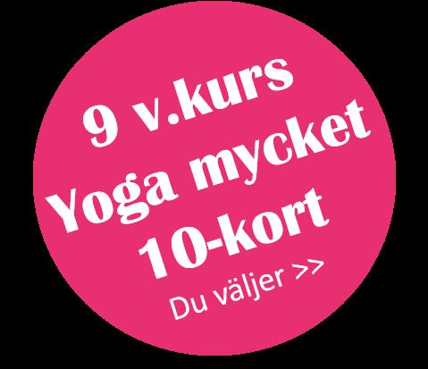 9 veckor - yoga mycket