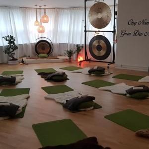 Vår fina yogasal