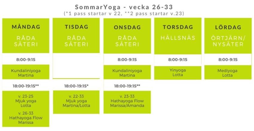 Sommayoga - 2020 - Yogameditationcenter